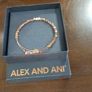 Alex and Ani Rose Gold Bracelet